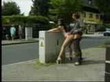 Crazy sex in public