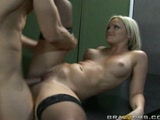 Fat ass blonde Alexis Texas stuffed by a BIG dick