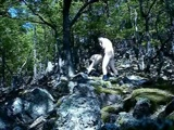 Amateur sextape in the woods