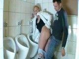 Guy Fucks Hooker In The Toilet