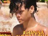 Rihanna exposed on beach