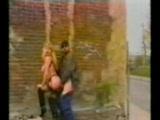 European prostitute fucks in public