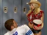 Busty cowgirl