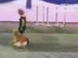 Sharp the pimp dog, dancing dogy style