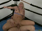 Britney Skye fucked in a boxing ring
