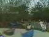 Giant Swing crashing on people *footage*