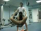 Crazy gym sex positions