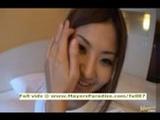 Japanese AV girl shows off her chubby body