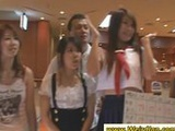 Sexy Japanese girls losing clothes