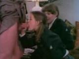 Retro Schoolgirls Getting Tricked By Pervert Teacher