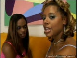 Two Very Sexy Black Girls Lick Each Other Out
