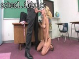 Hot schoolgirl girl allows her constricte ...