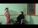 Naughty Schoolgirl Amanda Has To Drop Her Panties And Get Spanked