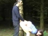 Couple sucking n fucking in the park