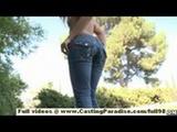 Ally Kay amateur teen with big ass riding ...