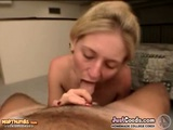 Blonde Coed Gets Her Pussy And Ass Pounded Hard