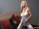 Awesome stip and masturbation