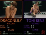 Busty Wrestler Toni Benz Gets Strapon Fucked By Her Opponent Dragonlily