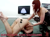 Two Blonde Slaves In A Hot Bondage Sex With Electricity Play
