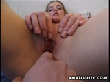 Busty Amateur Girlfriend Engaged In Hot Hardcore Sex With Cumshot