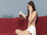 Ultra Hot Analhole Fucking On Red Couch