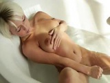 Hot Blonde Babe Morning Shower