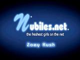 Petite teen Zoey Kush cums hard