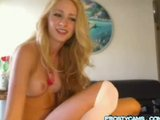Hot Blonde on cam