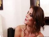 Beautiful Jenni Lee in bedroom