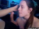 UK Couple Blow Job Rim Job and Facial