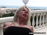Naughty amateur Milf anal and cumshot in mouth