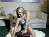 Southern Angel on Sybian