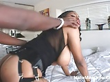 Big Tits Ebony Take A Huge Black Cock2