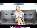 CastingCouch-X Amateur Blonde Audition Tape