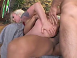 Lorelei Lee fucks 2 buff studs