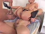 Jane Darling fucks 3 studs