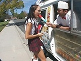 Naive Schoolgirl Should Never Took Ice Cream From A Stranger
