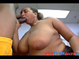 Latina BBW fucked by black guy