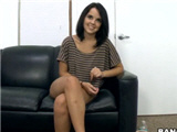 Cute teen first time on casting