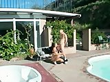 Babe getting fucked by the pool - After Shock