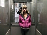 Teen Got Cornered In The Elevator By Dirty Stalker