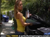 Sexy Busty Blonde Nicole Aniston Welcoms New Neighbor By Fucking