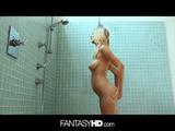 Natalia Starr Hardcore Sex And Cumshot In Shower