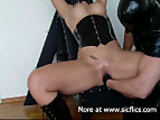 Intense fisting and squirting orgasms