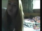 Blonde German Girlfriend Is On Her Webcam Teasing Her Boyfriend