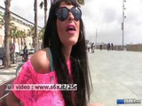 Lia M _ Hot Brunette Showing Her Tits And Ass In Public Outdoors