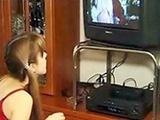 Teen Babysitter Caught Watching Porn On TV Instead Of Watching Kids