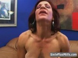 GILF Deepthroat Sucking