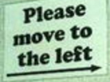 Please move to left