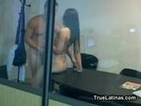 Busty Latina GF Office Fucking